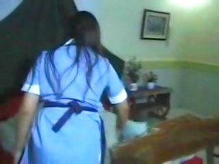 Nurse London and Jessica's Lesbian Play