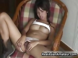 Heather Deep Thai Teen playing video games gets creampie