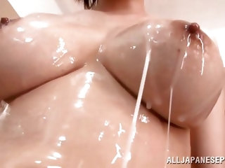 Irresisstible Asian lass fucked after she blows a hard one