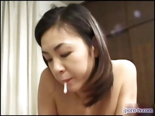 Gorgeous japanese babe Ibuki gets fucked in all kinds positions